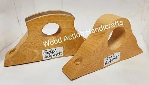 wooden curtain brackets