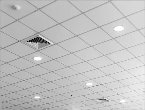 grid ceiling tile