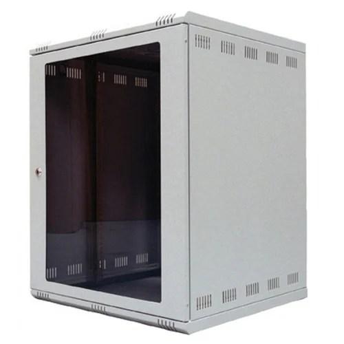 12u wall mountable rack with fan