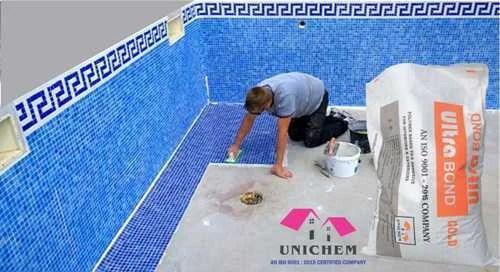 waterproof floor tile adhesive