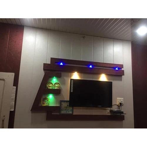 pvc led tv stand