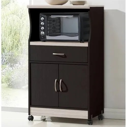 movable plywood microwave cabinet