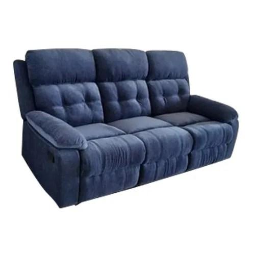 three seater suede sofa