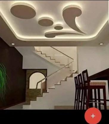Pop Rose Ceiling Tile Manufacturer From Bengaluru | Staircase False Ceiling Design | Hallway | Office | Duplex | Veneer Design | Simple