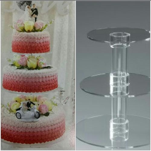 3 Tier Wedding Cake Stand  4 kg  at Rs 1000  piece   Cake Stand   ID     3 Tier Wedding Cake Stand  4 kg