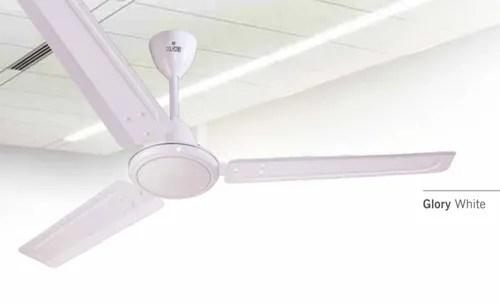 glory white ceiling fan