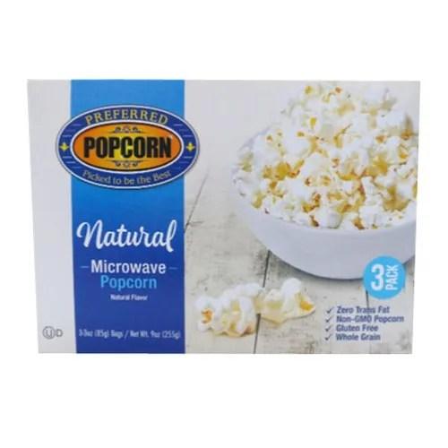 natural microwave popcorn