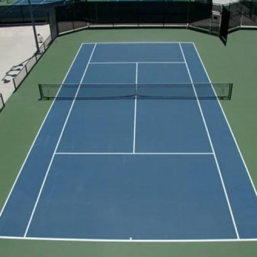 PU Tennis Court Flooring, Rs 115 /square feet, PR Sports ...