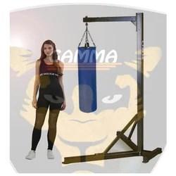 punching bag rack