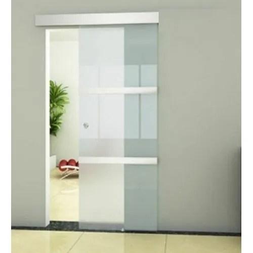 single sliding glass door