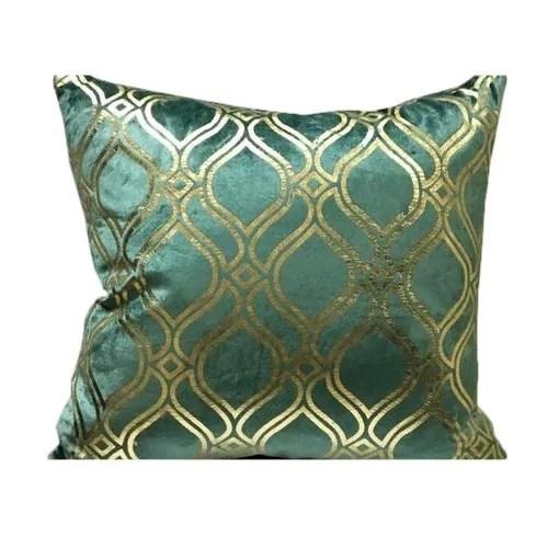 velvet moroccan cushion cover