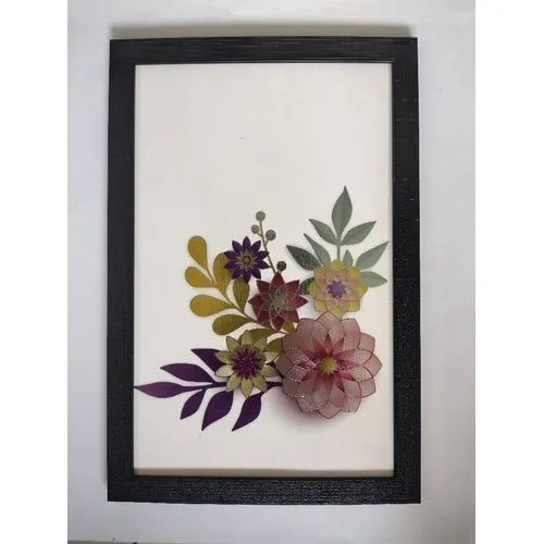 floral printed wall poster