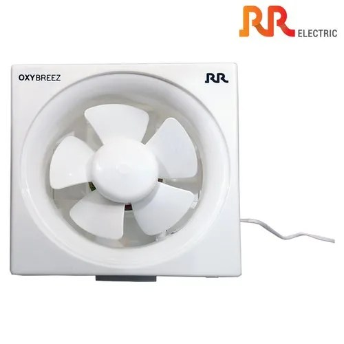 rr electric oxybreez exhaust fan high speed white 8inch