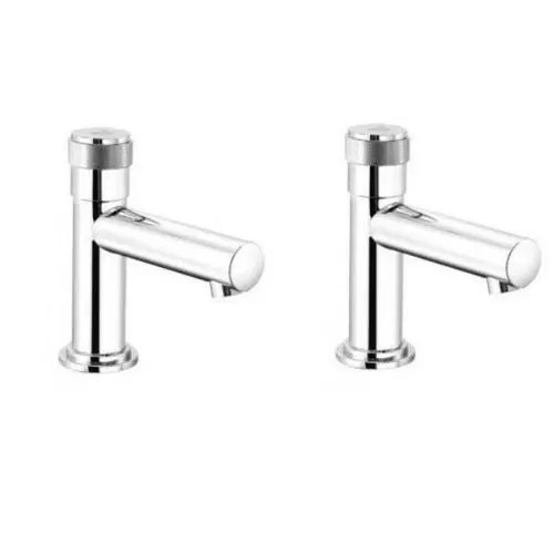 ss faucet touch press auto self closing