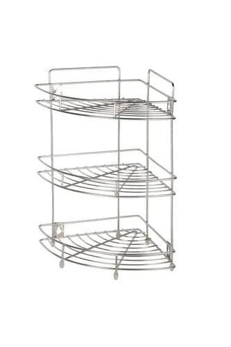 patelraj kitchen stainless steel corner dish rack