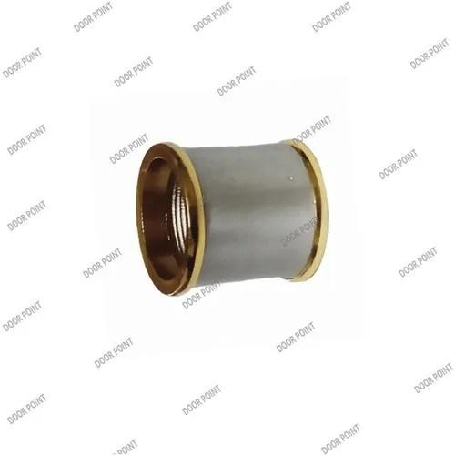 brass curtain wall to wall bracket