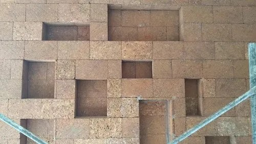 laterite wall tile