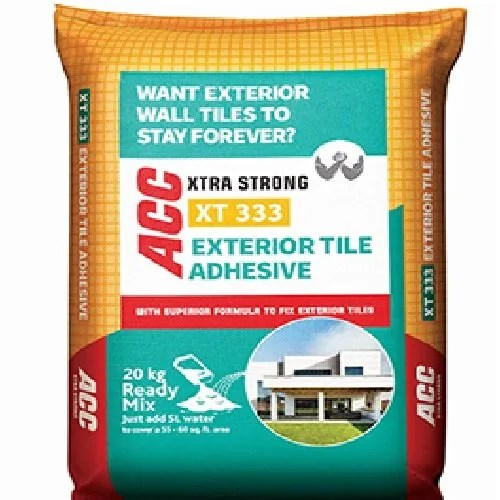 acc xtra strong exterior tile adhesive