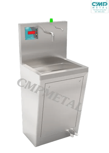 scrub sink automatic sensor with foot operate