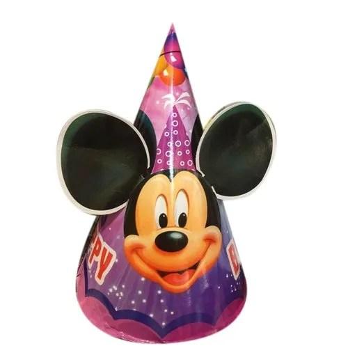 Mickey Mouse Birthday Cap At Rs 25 Piece Mumbai Id 22582965862