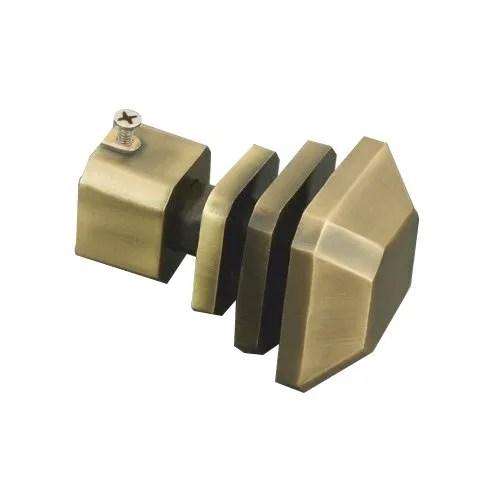 brass curtain rod bracket