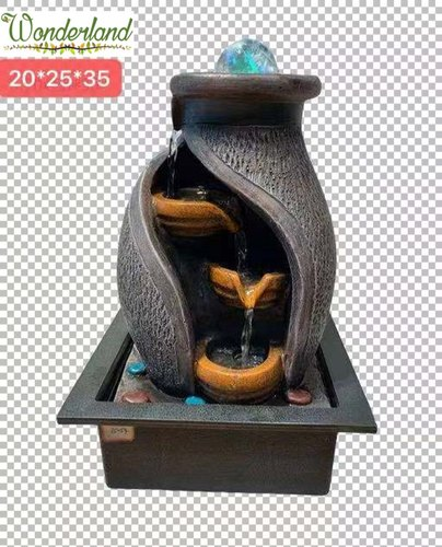 wonderland imported resin table top fountains