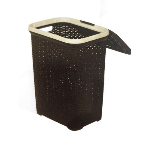 Plastic Grey Nilkamal Laundry Basket Rs 600 Piece Ashoka Enterprises Id 20448004830