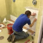 Eugene Krasnokutski - tile installer with over 5 years of installation experience.
