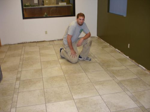 Touchdown Tile owner and certified tile installer - Erik Grams