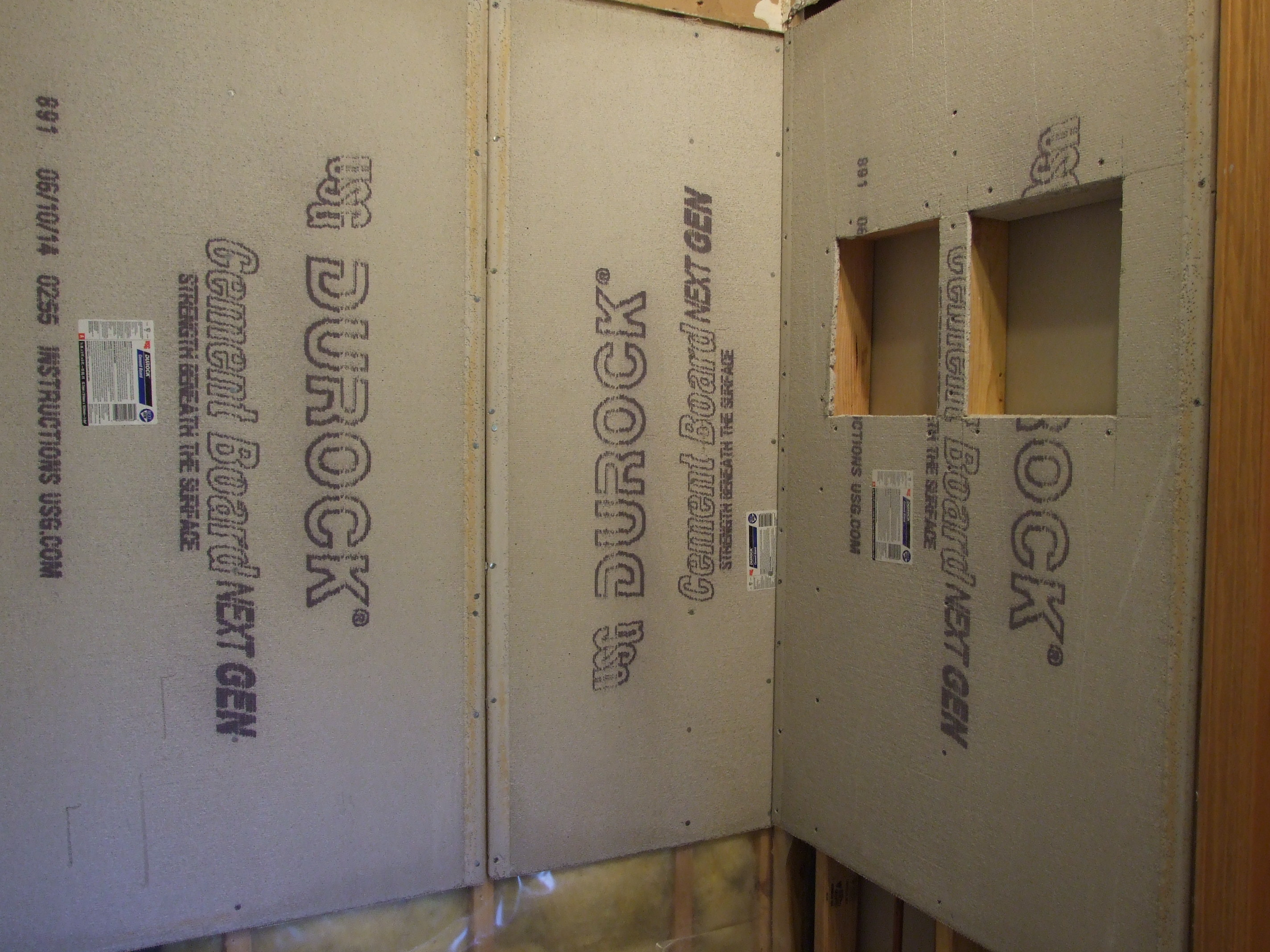 Shower Wall Tile Installation Step By Step Touchdown Tile