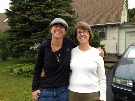 Dianne Whelan & Mary Gaultois