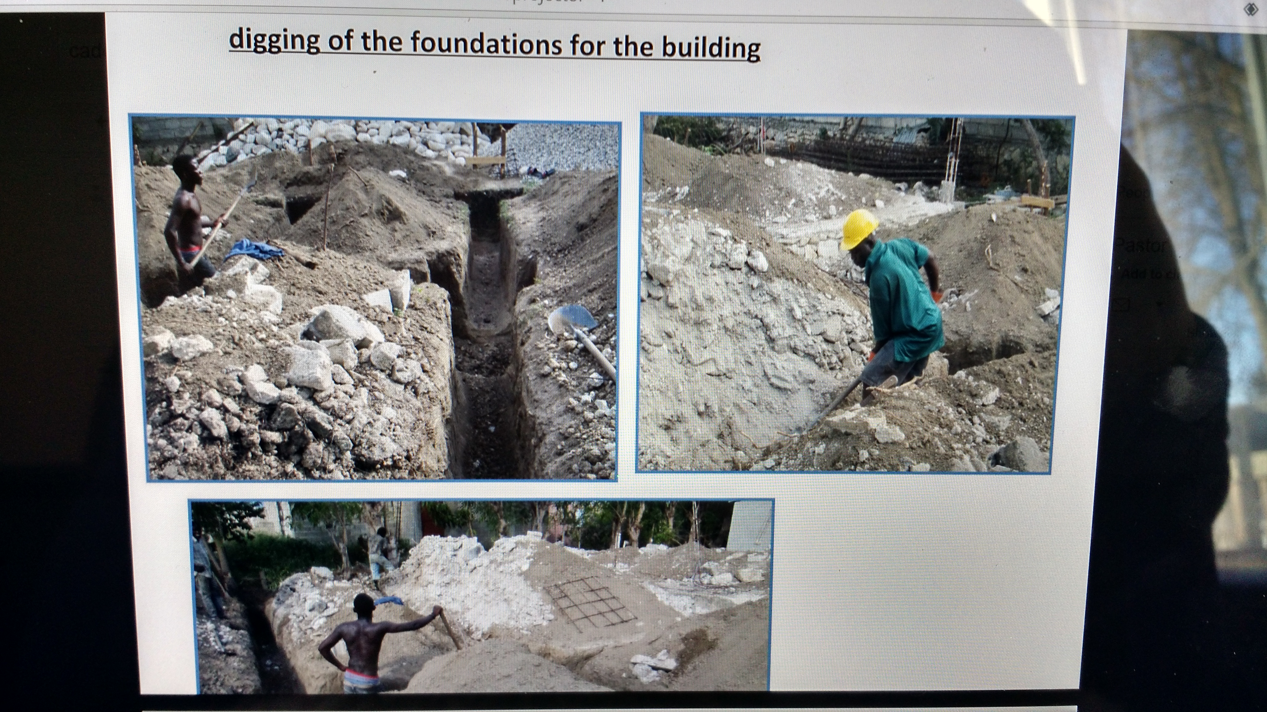 Haitian Vocational School Building Update