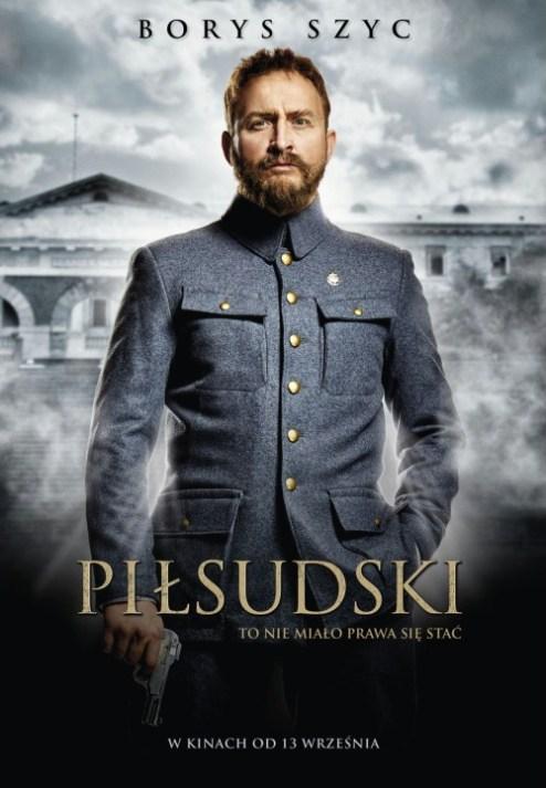 Plakat filmu Piłsudski z 2019 roku