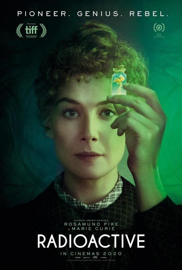 Plakat filmu Skłodowska (2019)