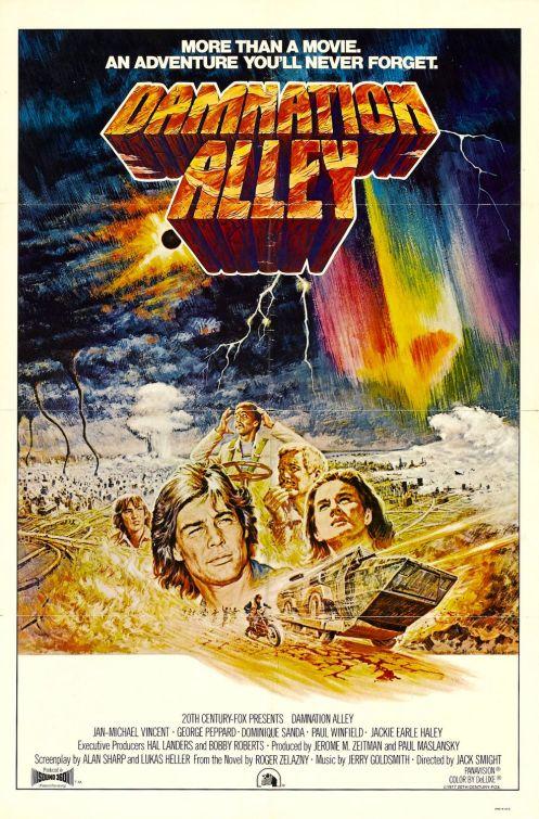 Plakat filmu Aleja potępionych (1977) - Damnation Alley (1977) poster