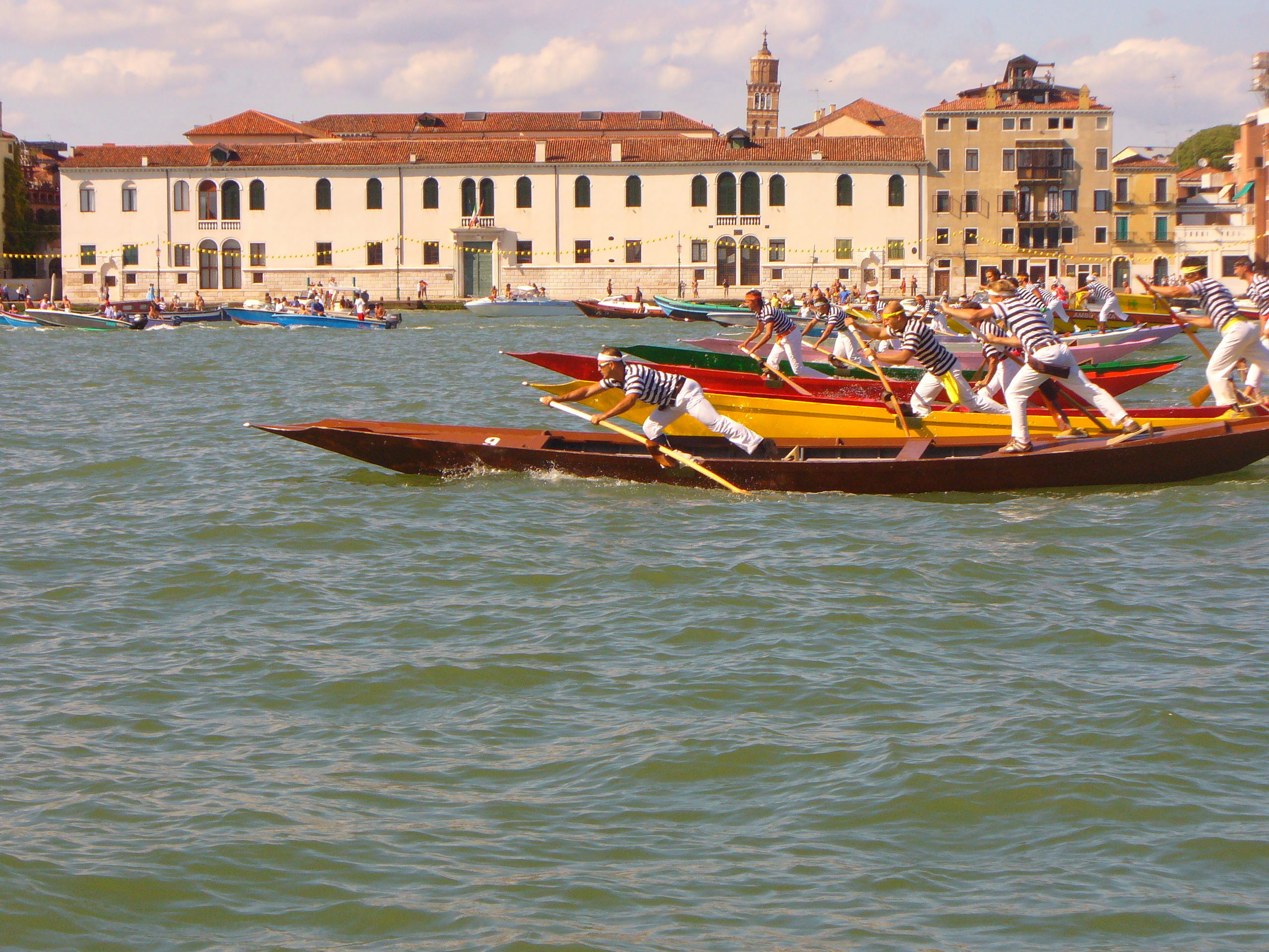 Regata a Venezia: Festa del Redentore
