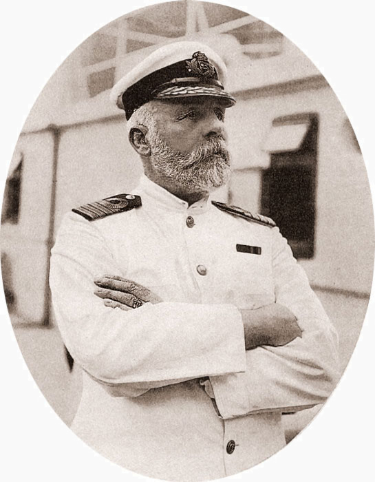 Unfortunate ship captain Edward Smith