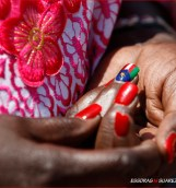 South Sudan Flag Nailpolish