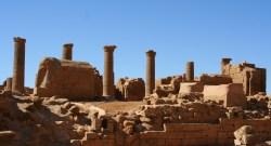Musawwarat es-Sufra, a large Meroitic temple complex in Sudan, 190 km Northeast of Kharoum. (Photographer: Mauro Gambini)
