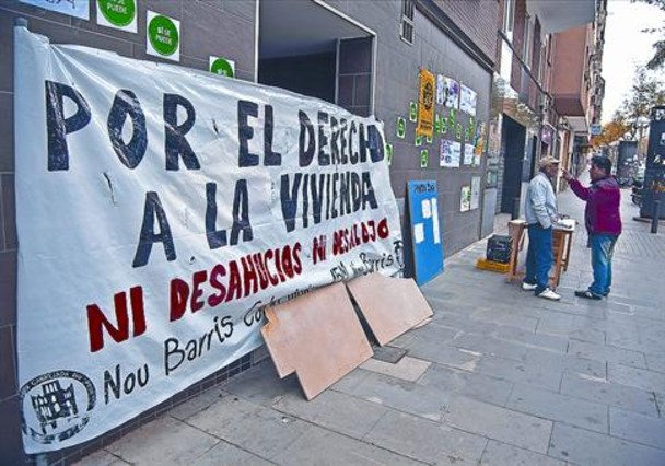 COMUNICADO sobre el EDIFICIO de la calle Pablo Iglesias 84 BCN