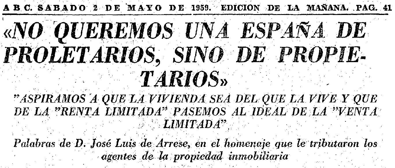 El incremento de los desahucios de alquiler y ocupaciones tienen su raíz y  causa en la estructura franquista del Estado español. – Associació 500×20