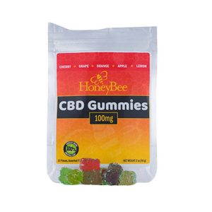 HoneyBee Full Spectrum Hemp Extract Gummies