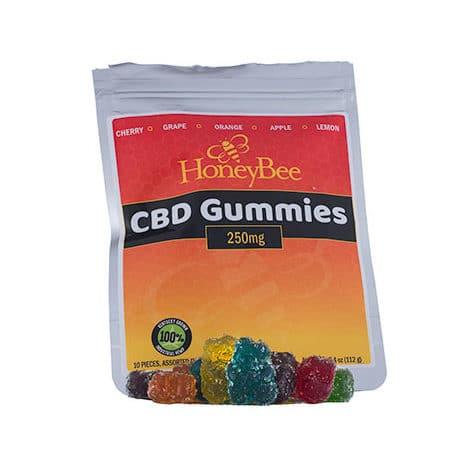 HoneyBee Full Spectrum Hemp Extract Gummies