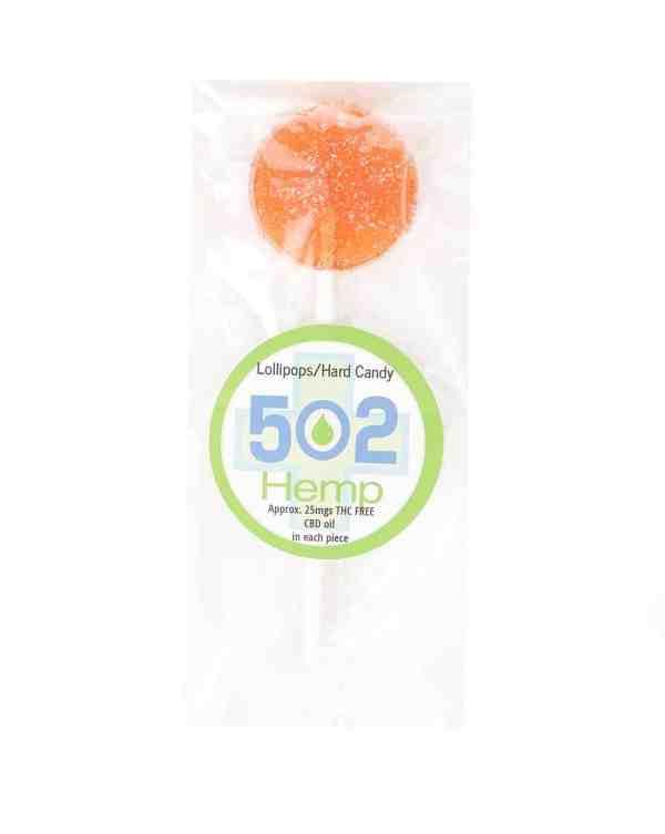 502 Hemp CBD Infused Lollipop