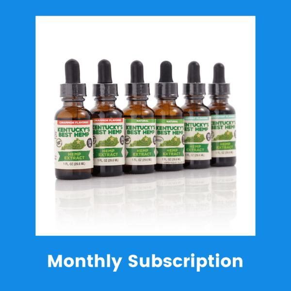 CBD Monthly Subscription