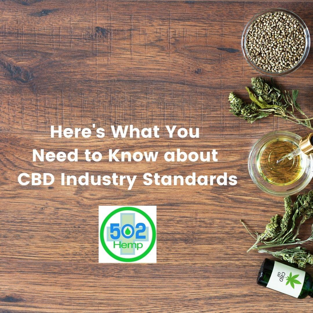 CBD Industry Standards