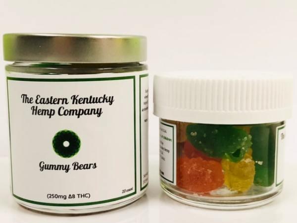 Eastern Kentucky Hemp Company Delta 8 Gummied