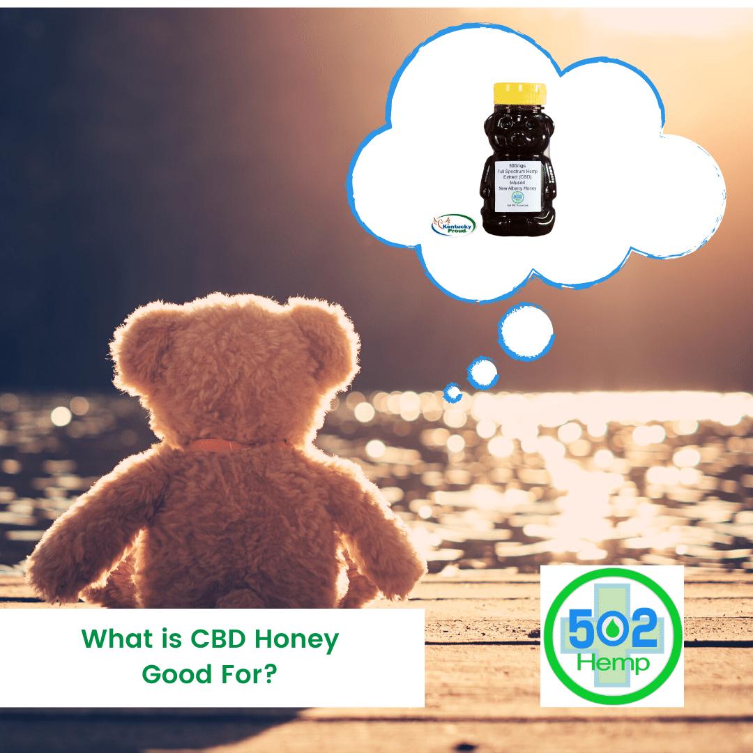 What is CBD Honey Good For?