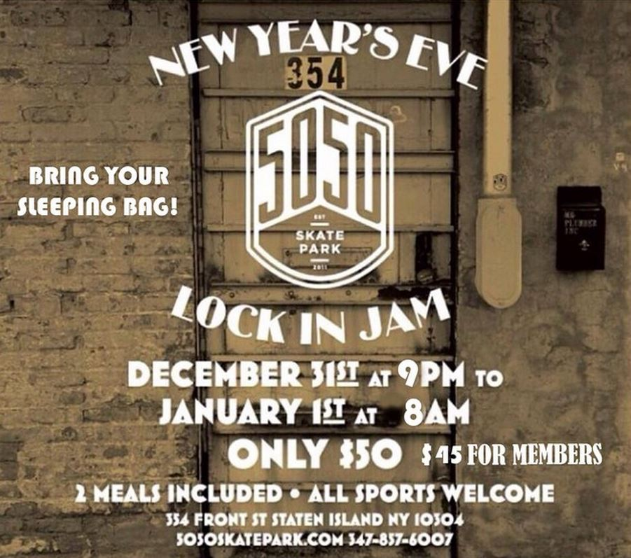 New Years Eve Lock In Jam