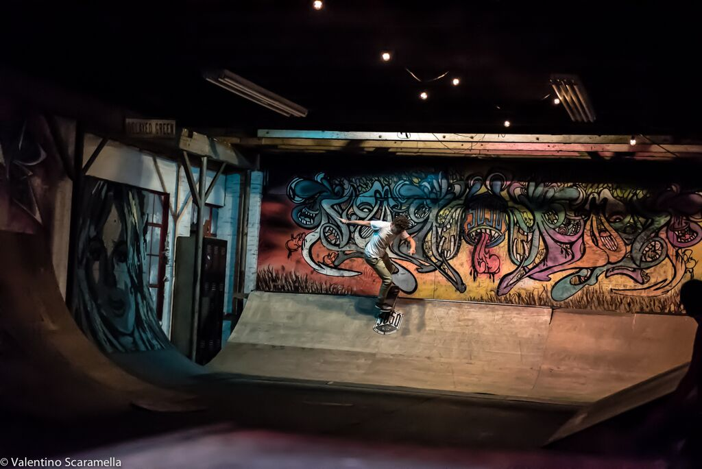 Diaster by Skater at 5050 Skatepark 2015 photo Valentino Scaramella